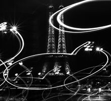 Double Eiffel Tower, Paris, France by Olivier Sohn