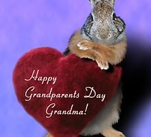 Grandparents Day Grandma Bunny by jkartlife
