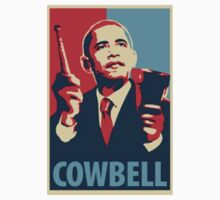 Obama Cowbell by phatshirts