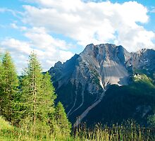 Scenery on Sella di Rioda by jojobob