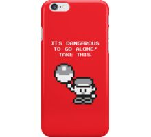 Take This (Red) iPhone Case/Skin