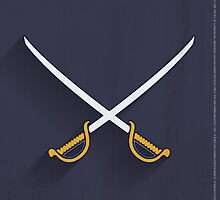 Buffalo Sabres Minimalist Print by SomebodyApparel