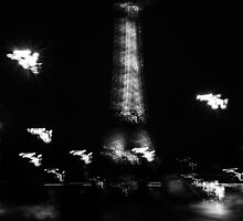 Vibrating Eiffel Tower, Paris, France by Olivier Sohn