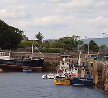 The harbour at Roundstone by JurassicJohn