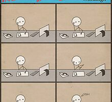 "Incredibly Boring Comics!! #1 - ""Working"" by FinlayMcNevin"