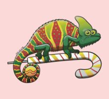 Christmas Chameleon Kids Clothes