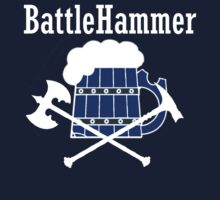 Blue Battle Hammer by Kirdinn