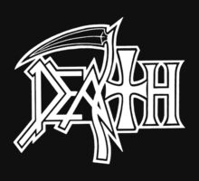 Death Logo Rock band metal punk by samshepherd509