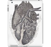 'Secrets I Have Held In My Heart'  iPad Case/Skin