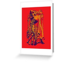 Puzzle Bone Greeting Card