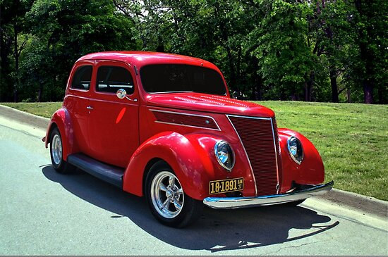 1937 ford 2 door sedan by teemack redbubble for 1937 ford 2 door sedan