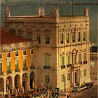 Praça do Comércio. Commerce square. Lisbon by terezadelpilar~ art & architecture
