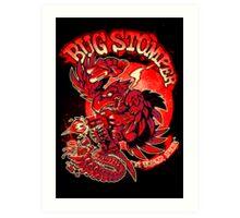BUG STOMPER Art Print
