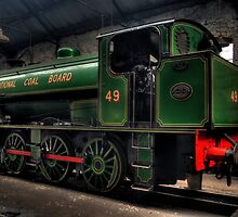 National Coal Board Engine 49 Rear by Andrew Pounder