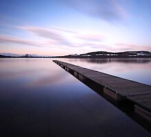 Loch lomond jetty by Photo Scotland