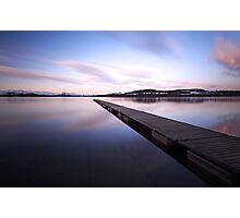 Loch lomond jetty Photographic Print