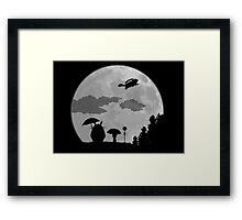 Midnight Bus Framed Print