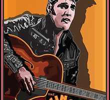 ELVIS PRESLEY by Larry Butterworth