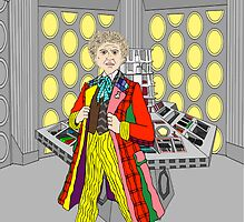 The Sixth Doctor by Scatmanjon