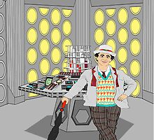 The Seventh Doctor by Scatmanjon