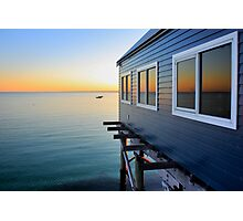 Busselton Jetty Colours Photographic Print