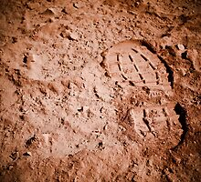 Dusty Bootprint by dioptrewho