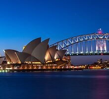 Opera House at Dusk by Nix Nox