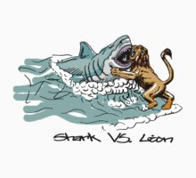Shark Vs. Lion by YouSirNaMe