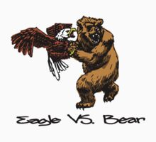 Eagle Vs. Bear by YouSirNaMe