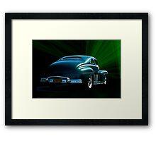 1947 Ford 'OZ' Custom Coupe  aka 'The Wizard' Framed Print