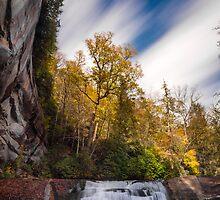 Cathedral Falls, North Carolina by Dustin Ahrens