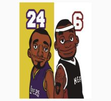 Lebron And Kobe Characters by bc98