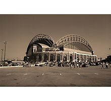 Miller Park - Milwaukee Brewers Photographic Print