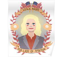 Leslie Knope Poster