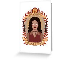 Zoe Washburne Greeting Card