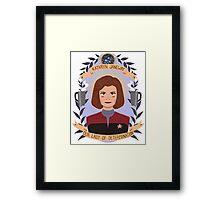 Kathryn Janeway Framed Print