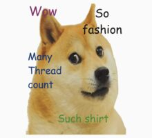 Doge-Such shirt by Skylar Stickley