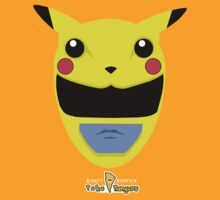 Yellow Pikachu Ranger by DCVisualArts