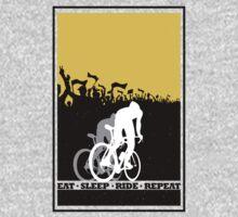 Eat Sleep Ride Repeat T-Shirt