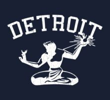 Spirit of Detroit (Vintage Distressed Design) by robotface