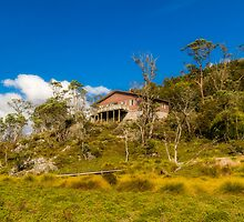 A Home in Cradle Mountain, Tasmania by Elaine Teague