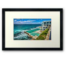 Icebergs Pool Bondi Framed Print