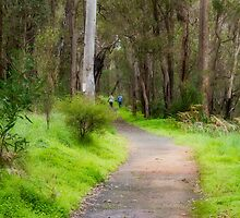 Blackwood River Walk Trail, Bridgetown, Western Australia by Elaine Teague