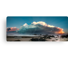 Sawtells Stormy Sunset Canvas Print