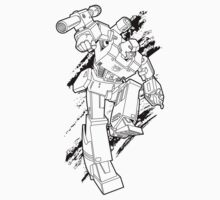 Megatron (line art 1) by NDVs