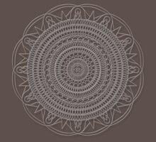 Tut Mandala - White Design by TheMandalaLady