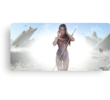 Warrior Of the Wasteland Canvas Print