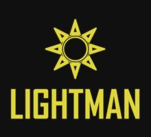 Lightman (Useful design) Yellow decoration Clothing & Stickers 	  by goodmusic