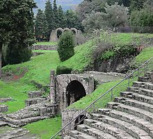 Roman Amphitheatre, Fiesole, Tuscany, Italy by buttonpresser