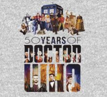 Doctor Who - 50 Years by marinasinger